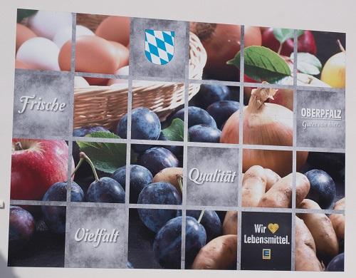 Referenz Blower-Door-Test EDEKA Lebensmittelmarkt und Getränkemarkt in Etzenricht