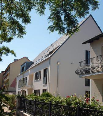 Referenz Blower-Door-Test Mehrfamilienhaus in Nürnberg