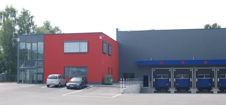 Referenz Speditionsgebäude Neustadt bei Coburg